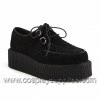 Creeper-402S Black Suede